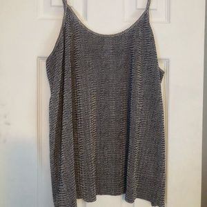 Patterned Swing Tank